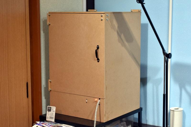 ガンプラ塗装に役立つ!山善の食器乾燥機を使って自作の「ドライブース」を製作してみた。