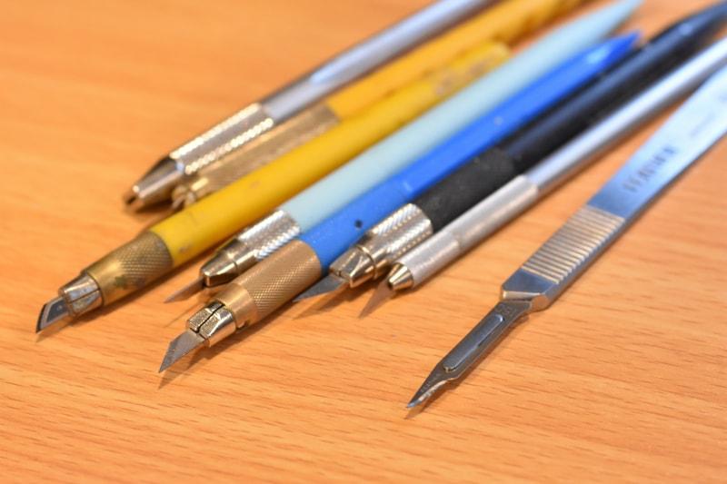 ガンプラ製作では必須!?メーカーごとの「デザインナイフ」の種類まとめ!