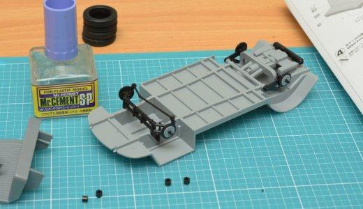 車のプラモデルの作り方とは!?ハセガワの『ワーゲンバス タイプ2』を仮組みしてみる。