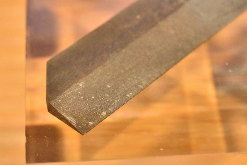 スジボリ 道具 目立てヤスリ スジ彫り用ヤスリ 先端