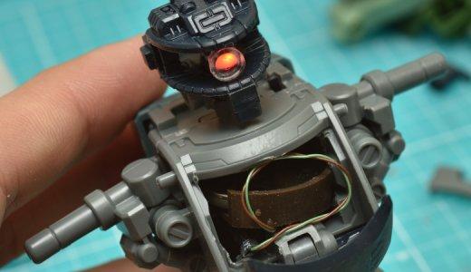 MGザクⅡを使ってガンプラ改造にチャレンジ!チップLEDを使って電飾をしてみた
