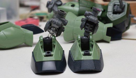 MGザクⅡを使ってガンプラ改造!関節を改造して可動範囲を大きくする方法とは?