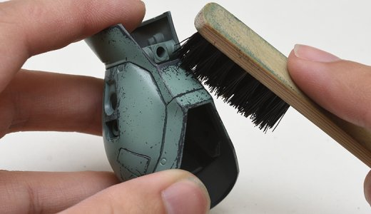 ウェザリング塗装でガンプラをリアルな質感を手に入れろ!